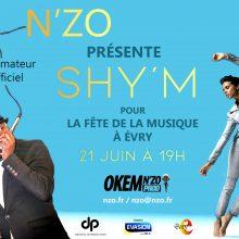 Affiche Shym FDM 2018